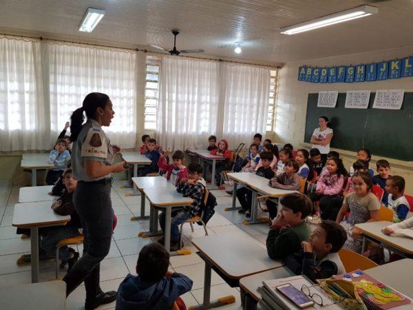 Programa do Detran-SP visita escolas de Auriflama