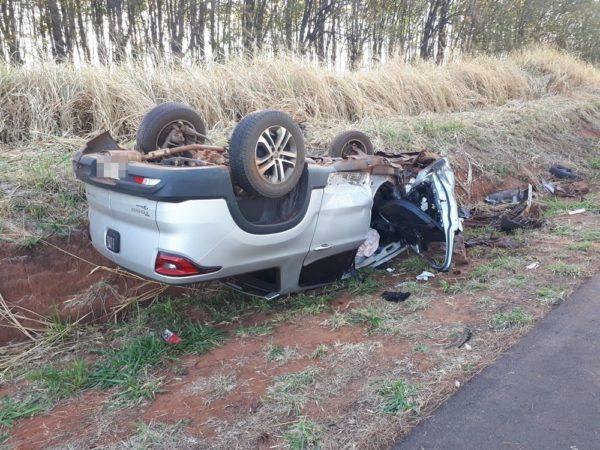 Motorista morre em acidente em Pontalinda