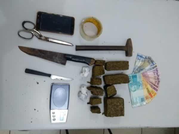 Polícia Militar prende traficante no São Bento