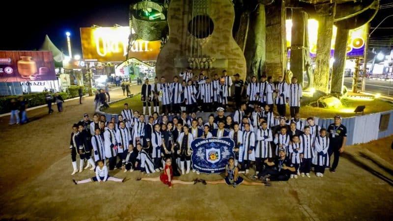 Banda Municipal de Aracanguá se apresentou na Festa do Peão de Barretos