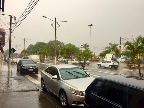 Quinta-feira será chuvosa e de clima fresco em Auriflama
