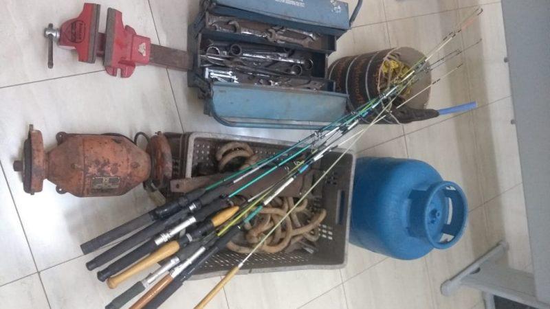 Polícia de Guzolândia recupera objetos furtados em Aracanguá