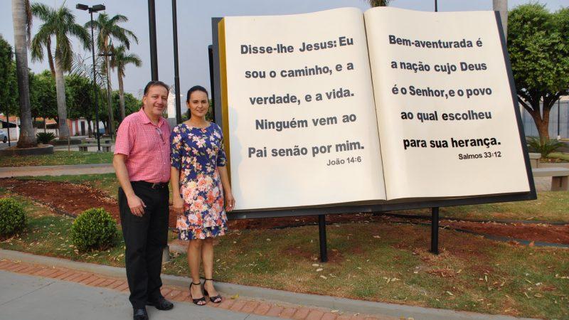 Guzolândia inaugura Praça da Bíblia no sábado