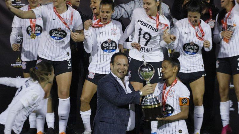 Corinthians é bicampeão da Copa Libertadores Feminina, no Equador