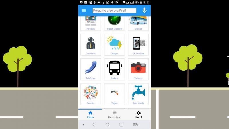 Aplicativo da Prefeitura de Pereira Barreto oferece serviços à população via celular