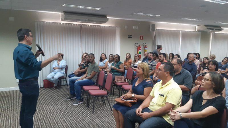 Servidores da região participam de capacitação 'Qualidade no Serviço Público'