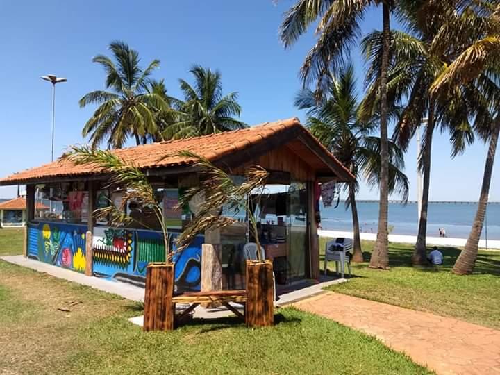 Praia de Pereira Barreto agora conta com o Espaço do Artesanato
