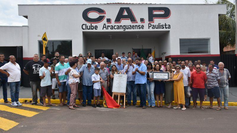 Aracanguá recupera clube que marcou a história da cidade