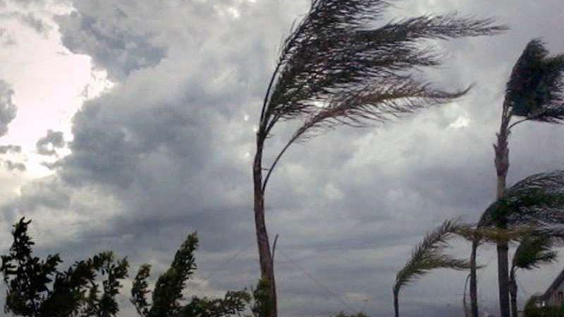 Defesa Civil alerta para chuva intensa e ventos