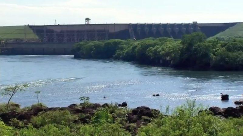 Níveis de dois reservatórios de usinas hidrelétricas na região estão baixos