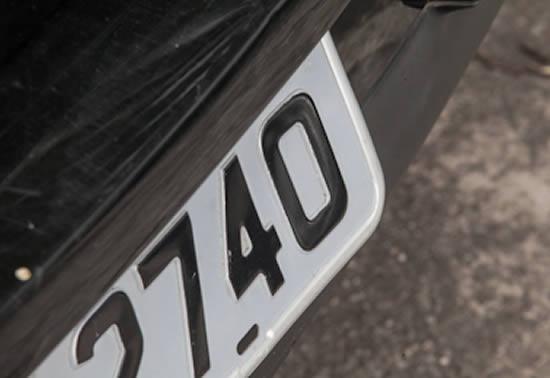 Veículos com placas final zero devem ser licenciados neste mês