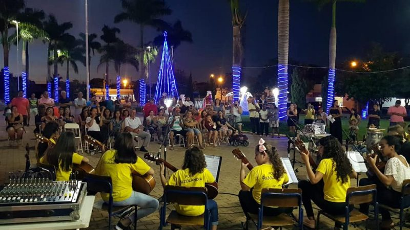 Emoção marca apresentação do Projeto Guri em Guzolândia