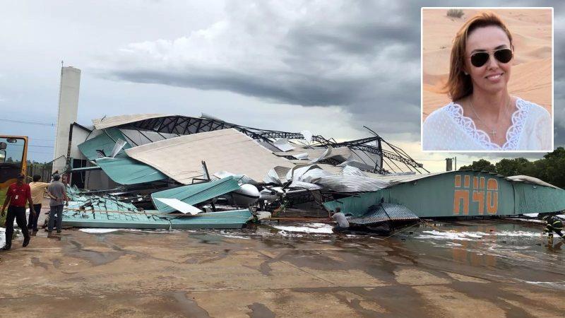 Mulher morre após queda de hangar no aeroporto de Araçatuba