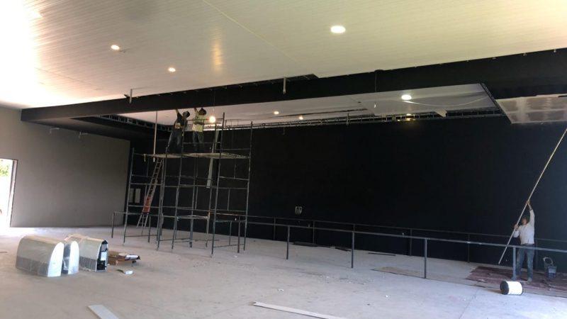 Novo templo da Igreja Batista está em fase de acabamento