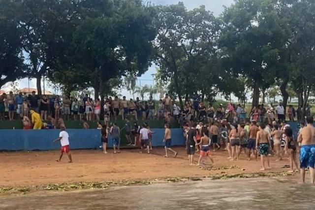 Jovem de Palmeira d'Oeste morre afogado em prainha da região