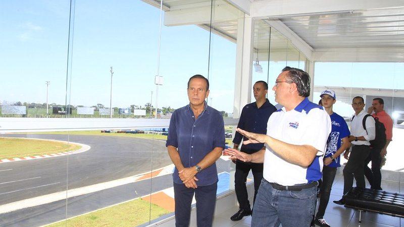 Doria visita kartódromo de Birigui que receberá Mundial em outubro