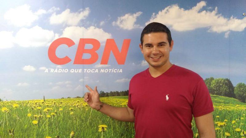 Após deixar a TV Tem, Eduardo Monteiro acerta com a CBN Grandes Lagos