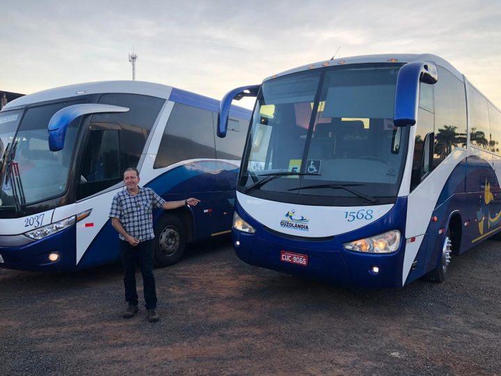 Guzolândia compra mais um ônibus para transporte universitário com recursos próprios