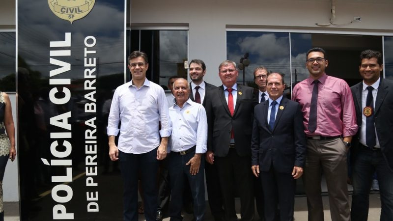 Delegacia Civil de Pereira Barreto é reinaugurada