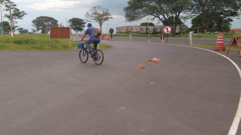 Ciclista é atropelado por caminhão em rodovia de General Salgado