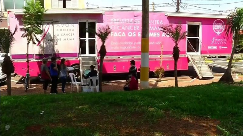 Carreta de Mamografia realiza exames em mulheres salgadenses