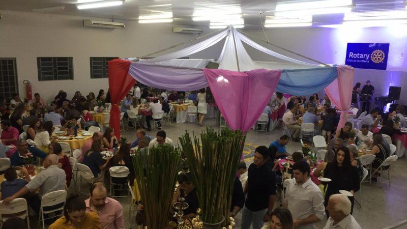 Rotary comemora sucesso da Noite Árabe