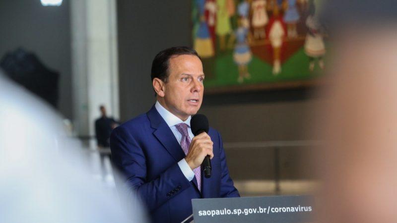 Estado de SP entrará em quarentena à partir de terça