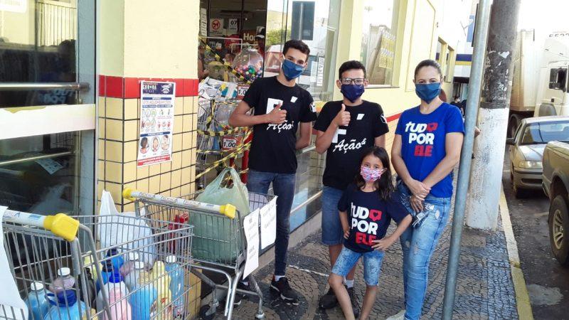 Adventistas trocam máscaras por amaciante para Santa Casa