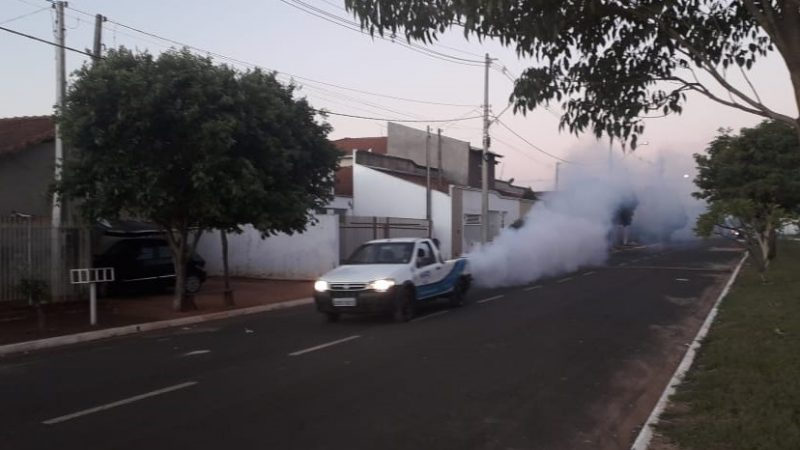 Aracanguá intensifica ações de combate ao Aedes aegypti