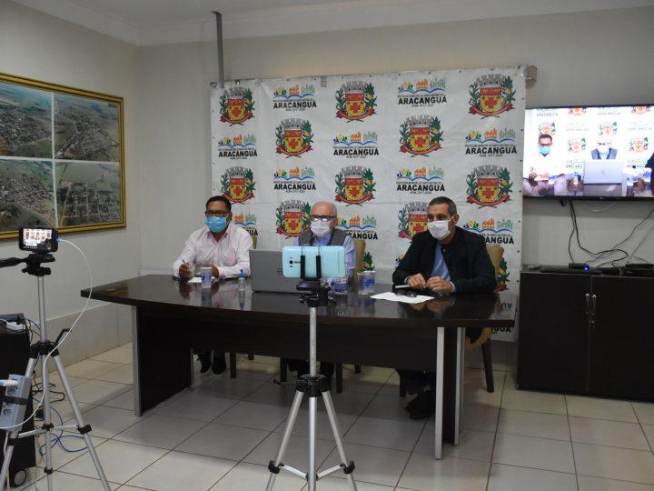 Aracanguá realiza Audiência Pública online e presta contas do 1º quadrimestre