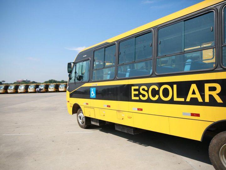 Auriflama recebe ônibus escolar do Governo de SP