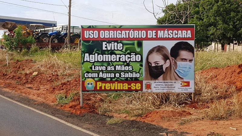 Confirmado 15º caso de coronavírus em General Salgado