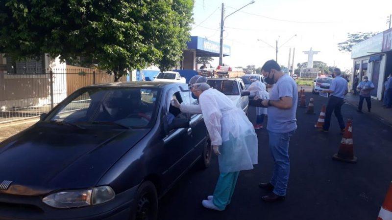 General Salgado implanta barreira sanitária na entrada da cidade