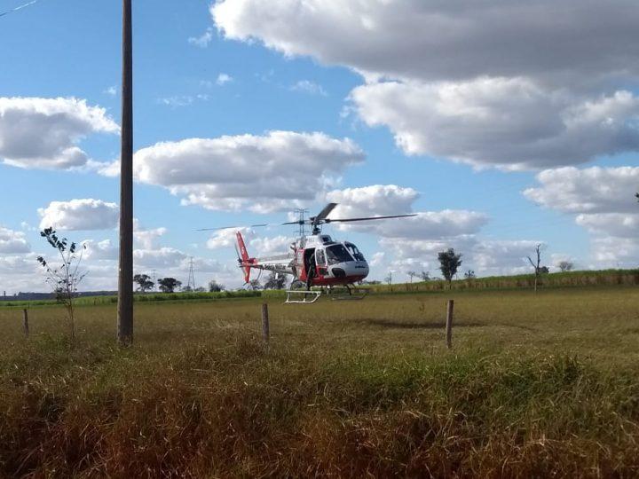 Policiais e familiares procuram por homem que sumiu em mata de Auriflama