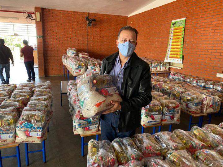 Novo lote do 'Auxílio Merenda' beneficia 490 famílias de Guzolândia