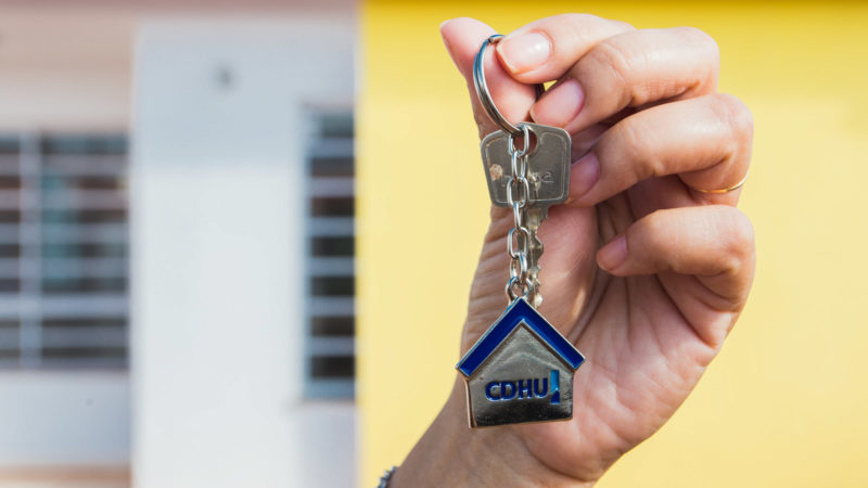 Lista completa dos contemplados com as casas do CDHU