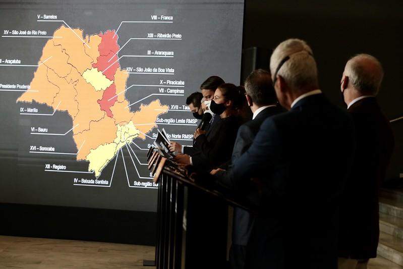 Plano SP: Governo mantém região na fase laranja