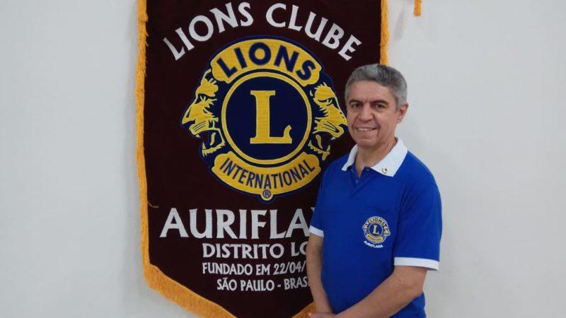 20 anos depois, Luiz Arruda volta à presidência do Lions Clube