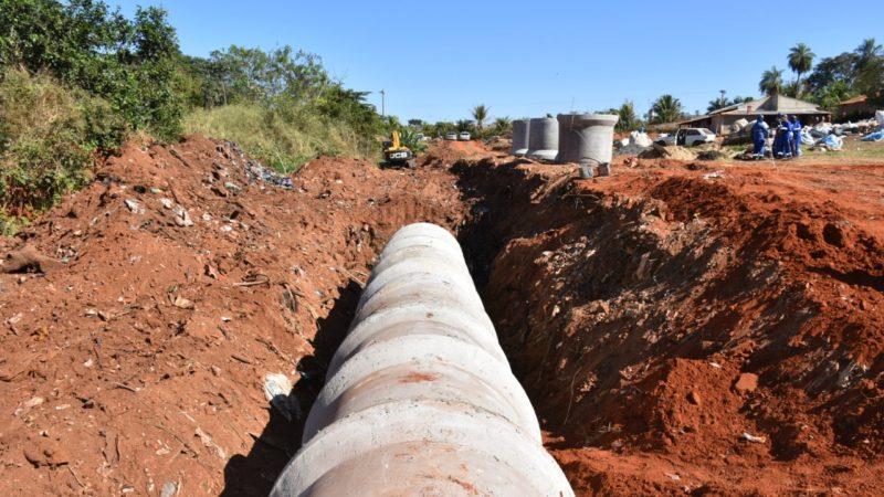 Aracanguá investe em obras de drenagem urbana