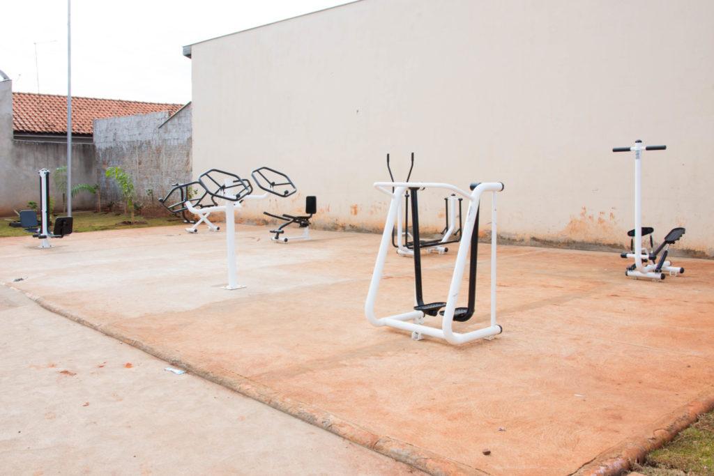 Pereira Barreto: Prefeitura conclui obras de academia ao ar livre no Nova Veneza