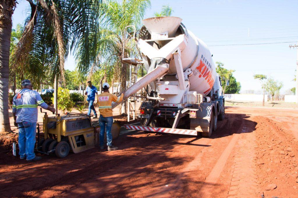 Obras de pavimentação asfáltica seguem em Pereira Barreto