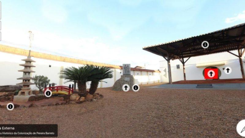 Museu Histórico da Colonização de Pereira Barreto lança Tour Virtual em seu site