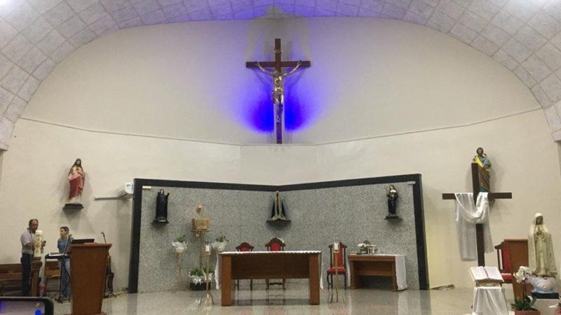 Igreja Católica decide manter missas sem a presença de fiéis em Auriflama