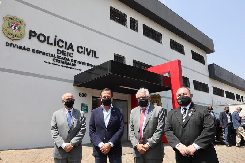 Governo inaugura Deic em São José do Rio Preto