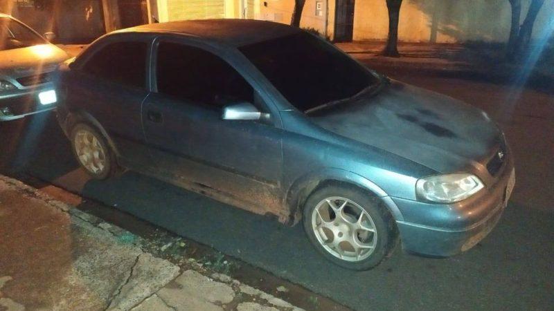 Mecânico de Auriflama é preso na divisa do MS com carro furtado