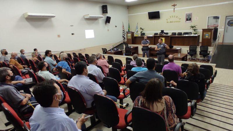 Projeto da Polícia Militar para inibir crimes na zona rural é apresentado na Câmara