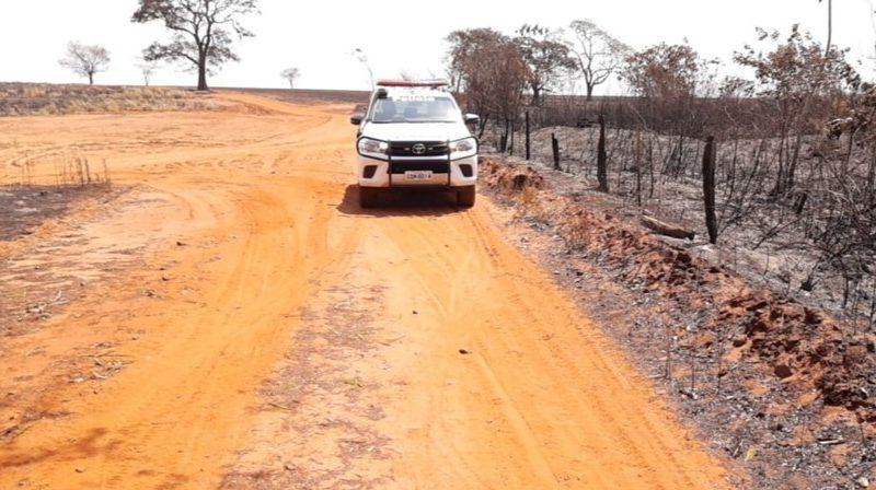 Queimada em área de proteção ambiental gera multa R$ 1 milhão em Sud Mennucci