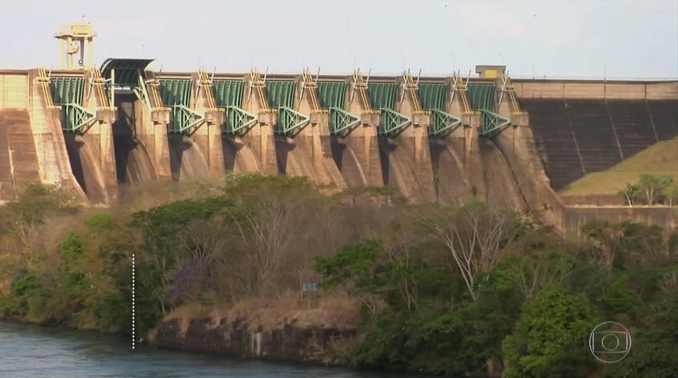 Reservatórios de usinas da região estão abaixo de 15%