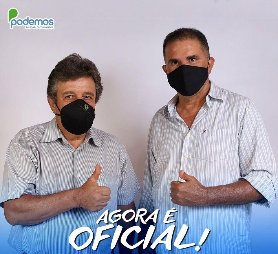 Márcio Cardoso e Colega são eleitos em Guzolândia
