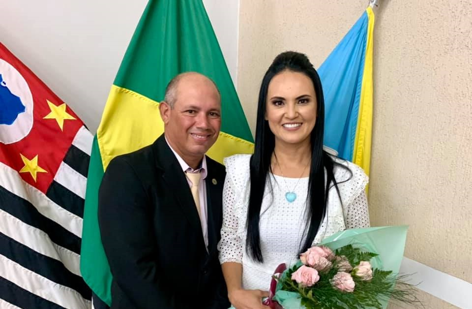 Katia Morita e Adalto são empossados para mandato de quatro anos